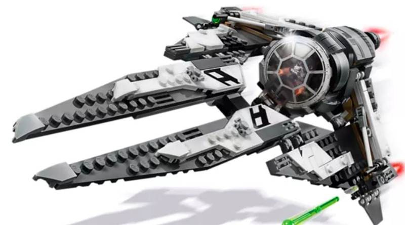 LEGO Star Wars 75242 Black Ace TIE Interceptor Featured 800 445