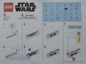 LEGO Star Wars Tantive IV Make Take 1 300x225
