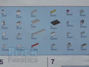 LEGO Star Wars Tantive IV Make Take Parts 300x225