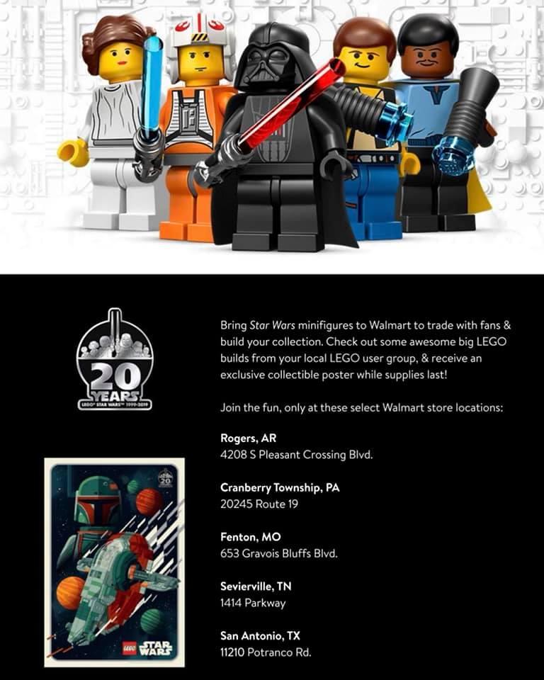 LEGO Star Wars Wal Mart Poster 2