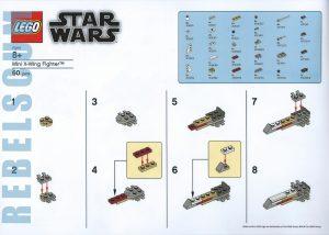 LEGO Star Wars X Wing Make Take 2 300x214