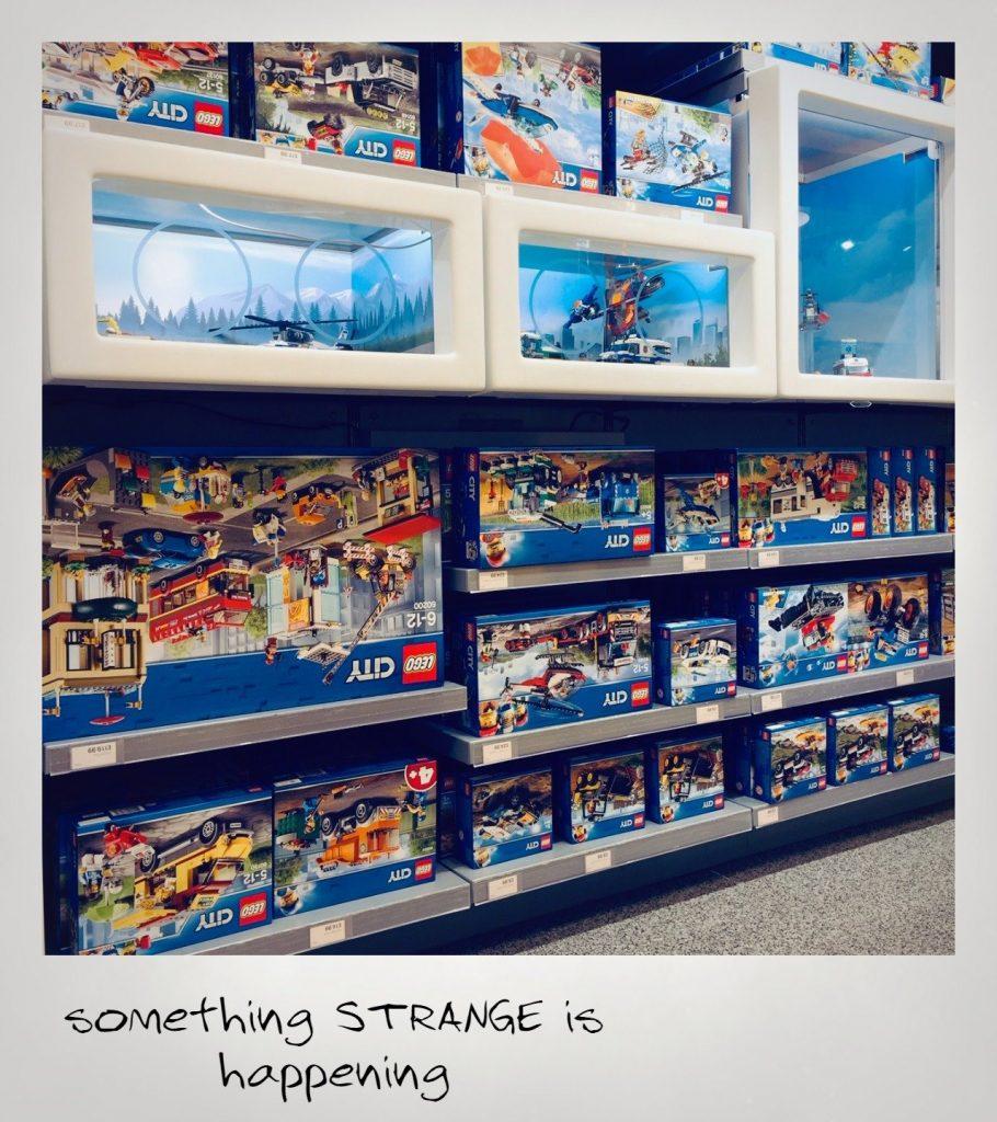 LEGO Stranger Things Upside Sets 910x1024