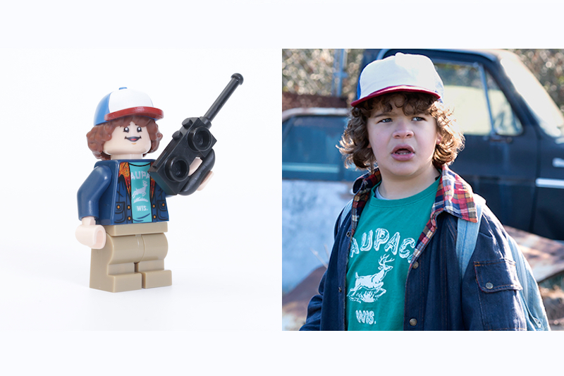 LEGO Stranger Things 75810 The Upside Down Review Minifigure Comparison Dustin