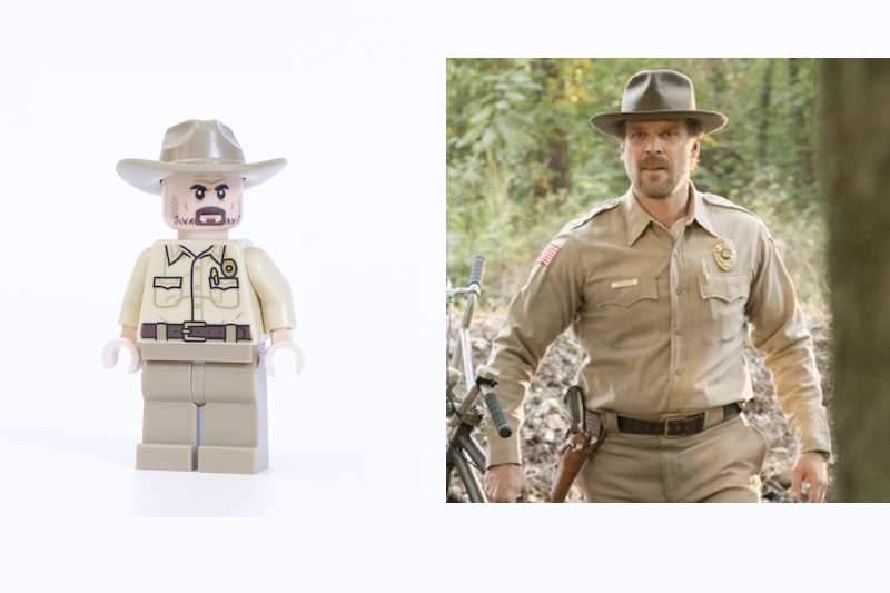 LEGO Stranger Things 75810 The Upside Down Review Minifigure Comparison Hopper