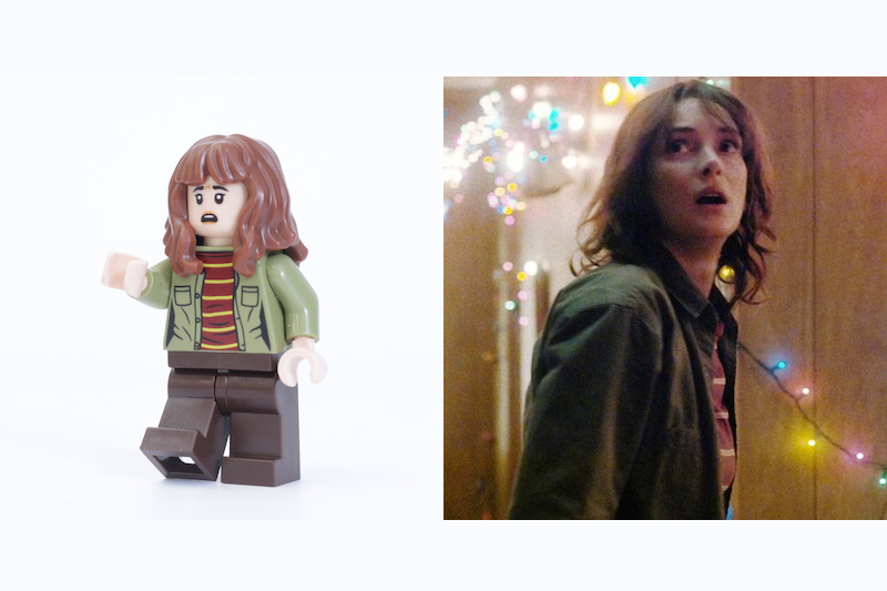 LEGO Stranger Things 75810 The Upside Down Review Minifigure Comparison Joyce