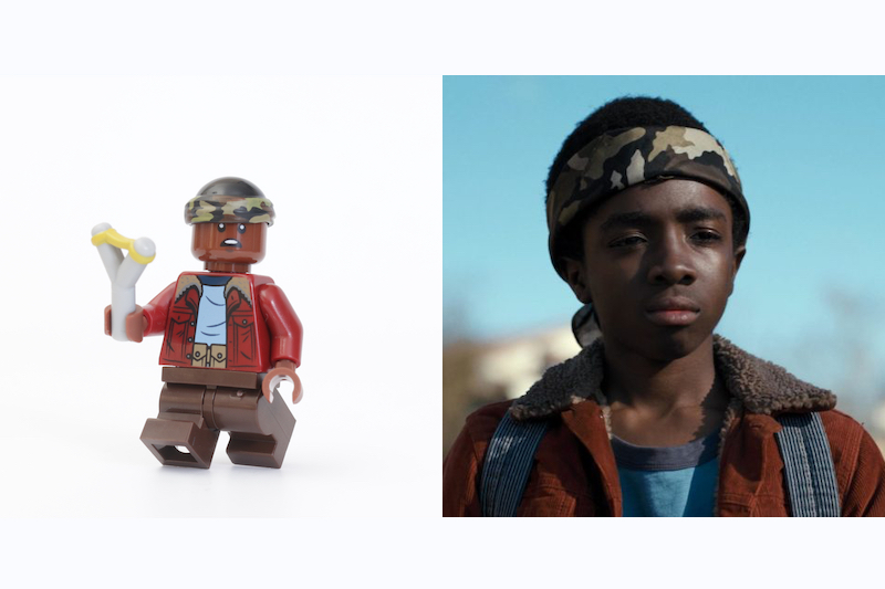 LEGO Stranger Things 75810 The Upside Down Review Minifigure Comparison Lucas