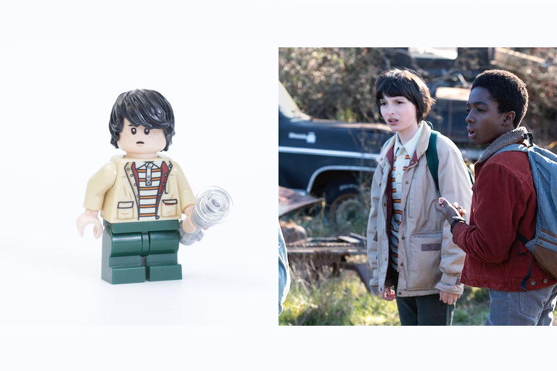 LEGO Stranger Things 75810 The Upside Down Review Minifigure Comparison Mike
