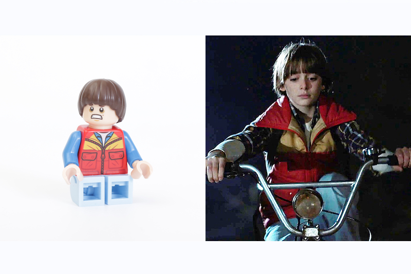 LEGO Stranger Things 75810 The Upside Down Review Minifigure Comparison Will