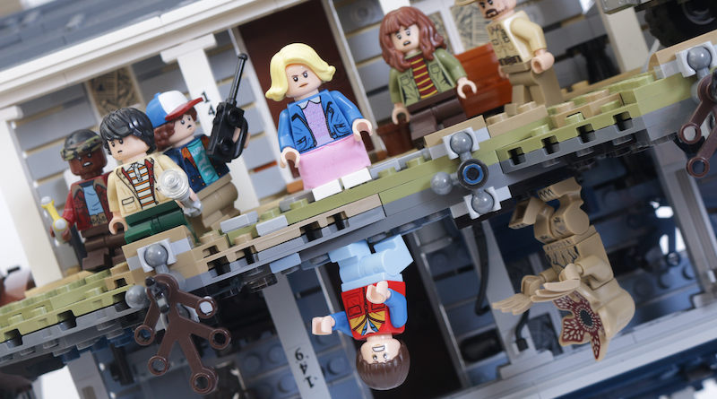 LEGO Stranger Things 75810 The Upside Down review title