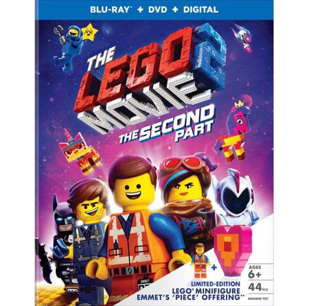 The LEGO Movie 2 Blu Ray Wal Mart Exclusive 450x445