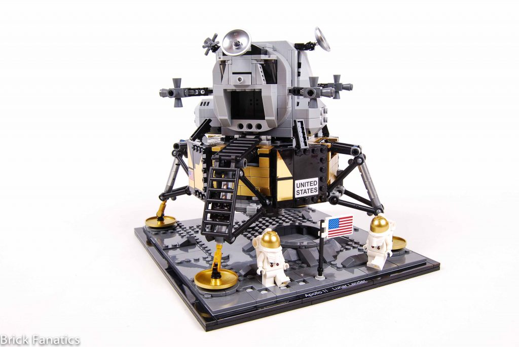 LEGO Creator Expert 10266 NASA Apollo 11 Lunar Lander review