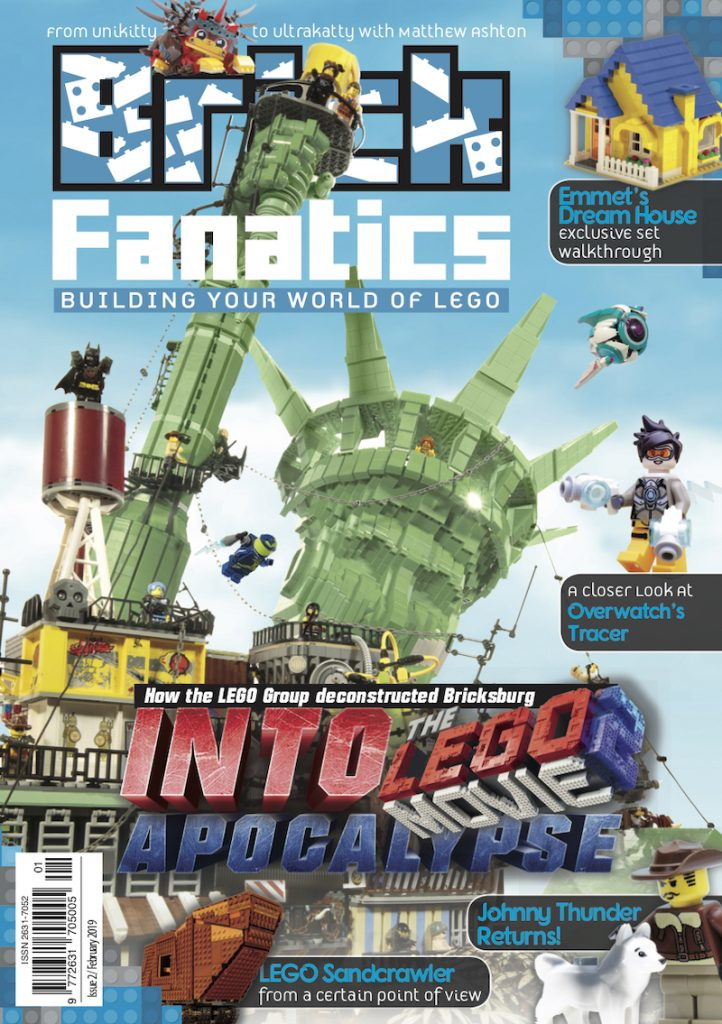 Brick Fanatics Magazine Issue 2 cover
