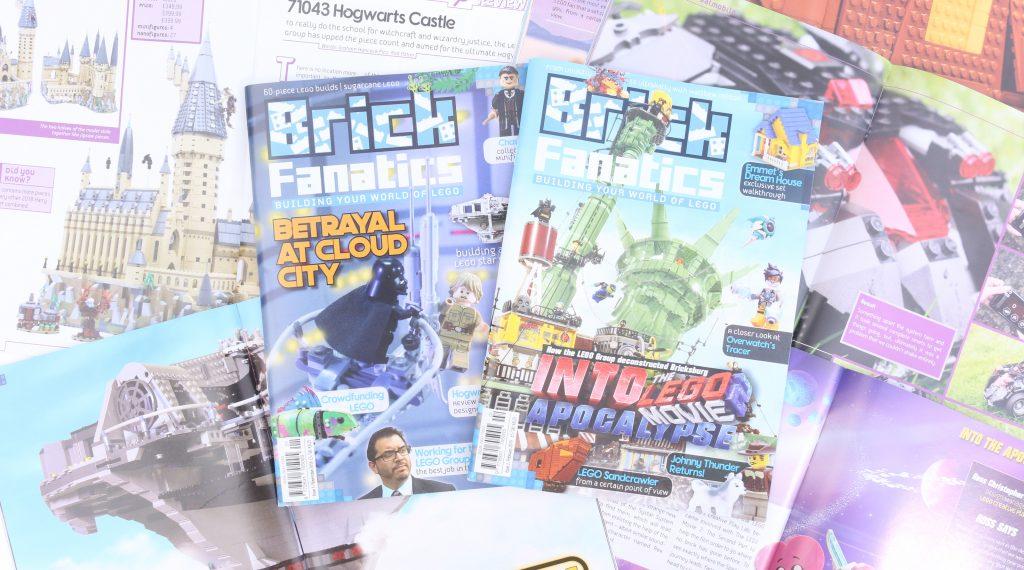 Brick Fanatics Magazine 1 2 Bundle Title3