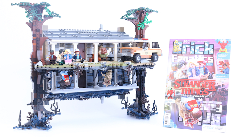Brick Fanatics Magazine Issue 7 LEGO Stranger Things Competition Title