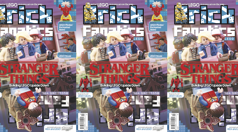 Brick Fanatics Magazine Issue 7 Cover Title