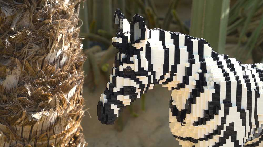 Bright Bricks Brick Safari Zebra