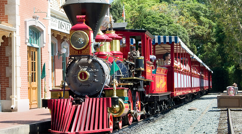 LEGO Disney theme park train rumoured to be coming down the