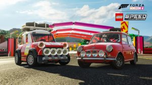 ForzaHorizon4 LEGO Speed Champions MINISideBySide Screenshot 300x169