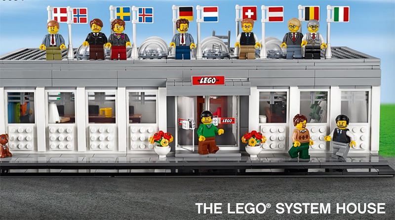 LEGO 4000034 The LEGO System House Featured 800 445
