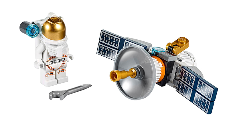 LEGO City 30365 Satellite Featured 800 445