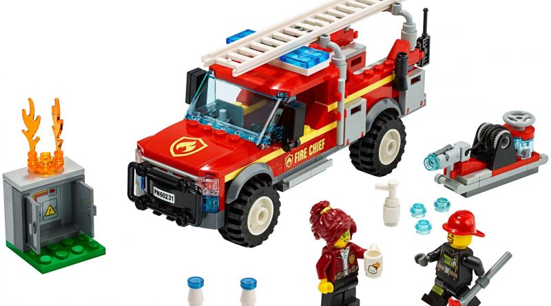 LEGO City 60231 Fire Chief Response Truck 800x445