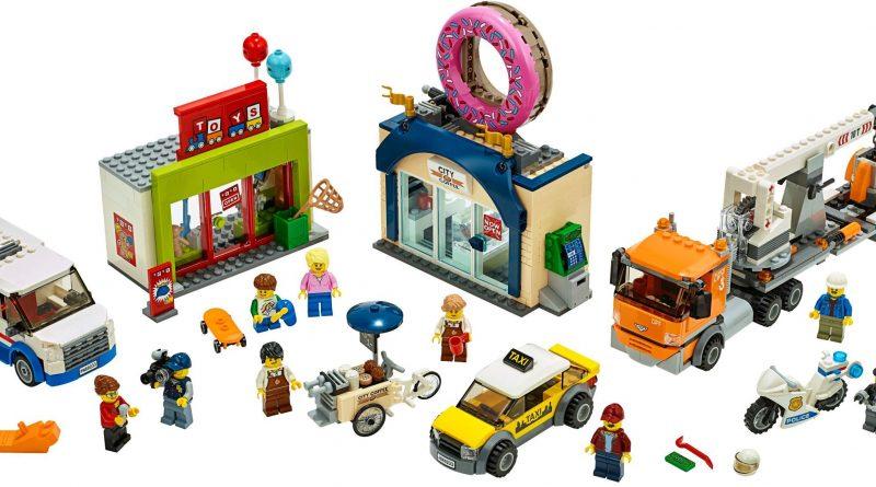 LEGO City 60233 Donut Shop Opening 800x445