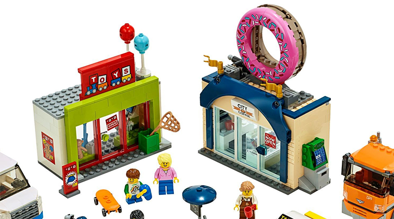 LEGO City 60233 Donut Shop Opening Featured 800 445