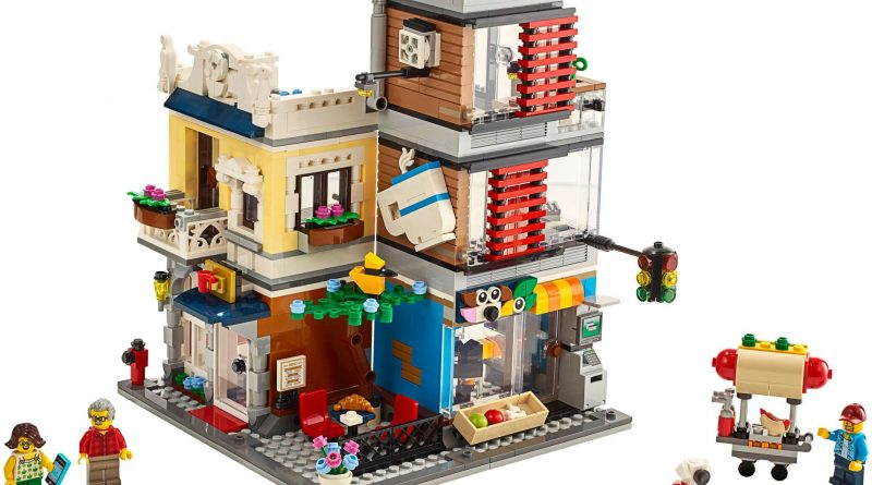 LEGO Creator 31097 Townhouse Pet Shop Cafe 800x445