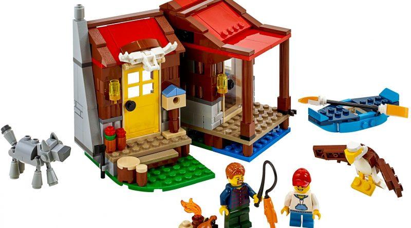 LEGO Creator 31098 Outback Cabin 800x445