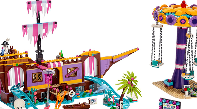 LEGO Friends 41375 Heartlake City Amusement Pier Featured 800 445