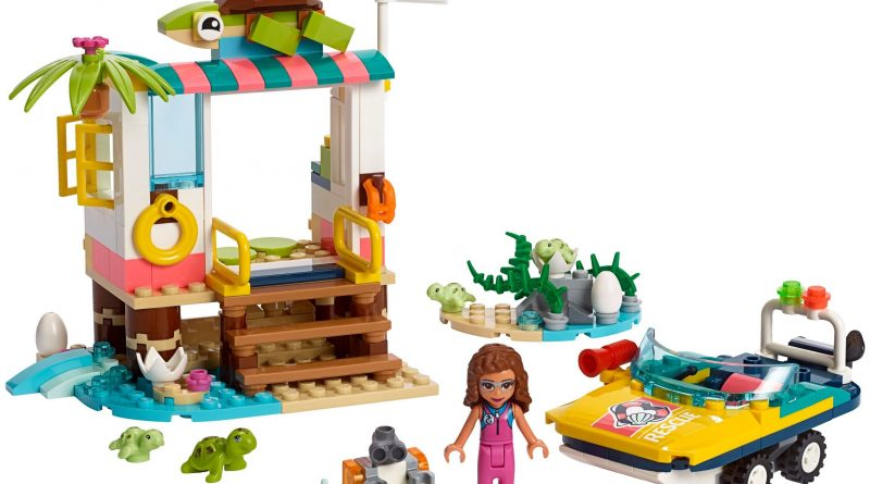 LEGO Friends 41376 Turtles Rescue Mission 800x445