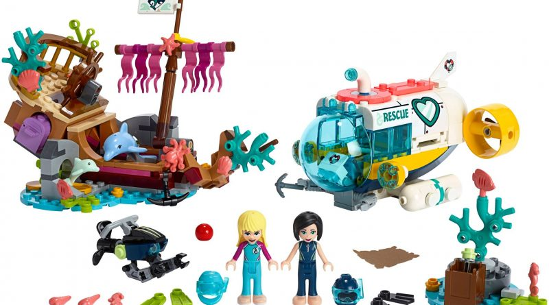 LEGO Friends 41378 Dolphins Rescue Mission 800x445