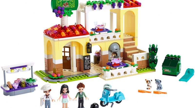 LEGO Friends 41379 Heartlake City Restaurant 800x445