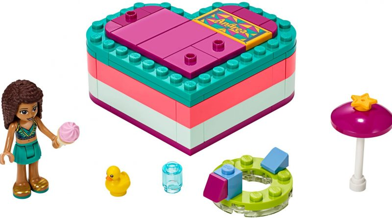 LEGO Friends 41384 Andreas Summer Heart Box 800x445