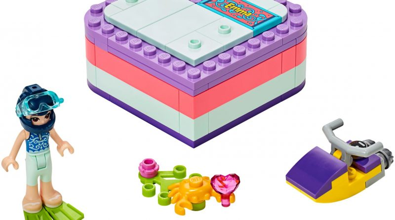 LEGO Friends 41385 Emmas Summer Heart Box 800x445