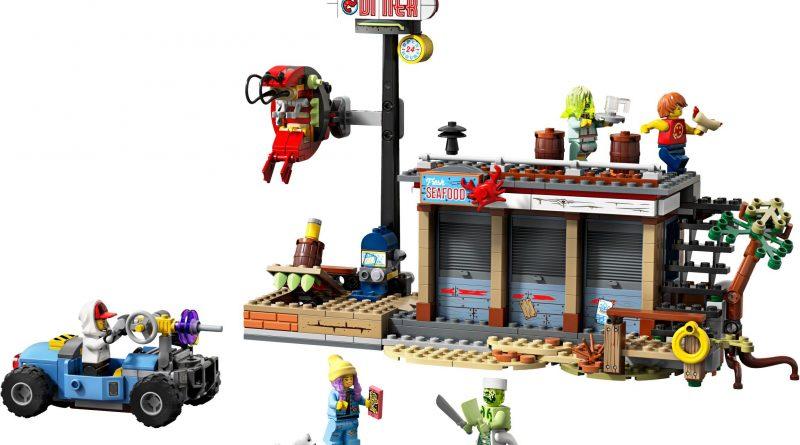 LEGO Hidden Side 4022 Shrimp Shack Attack 1