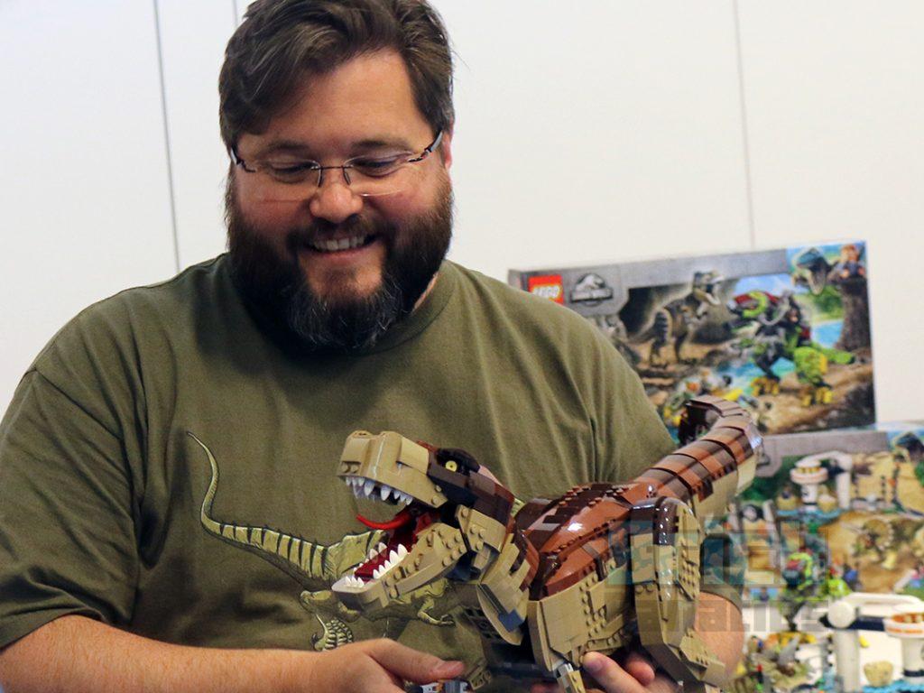 LEGO Jurassic Park Mark Stafford Interview 1024x768