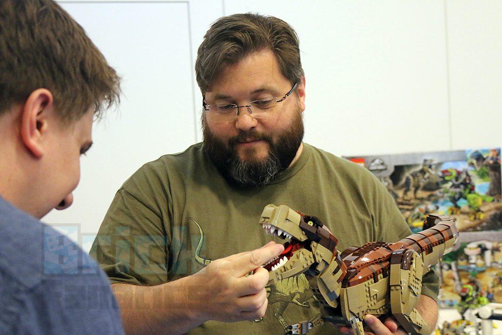 LEGO Jurassic Park Interview 1 1024x683