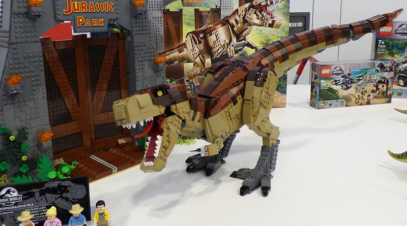 LEGO Jurassic Park Interview Featured 800 445