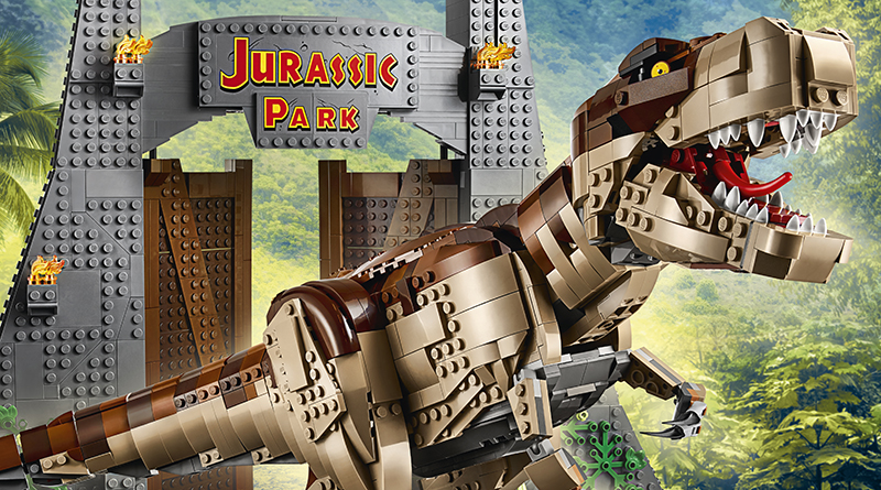 LEGO Jurassic World 75936 Jurassic Park: T. rex Rampage available now