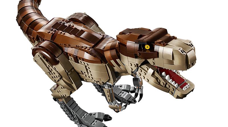LEGO Jurassic World 75936 Jurassic Park T Rex Rampage Featured 2