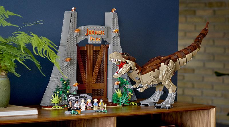 LEGO Jurassic World 75936 Jurassic Park T Rex Interview Featured 800 445