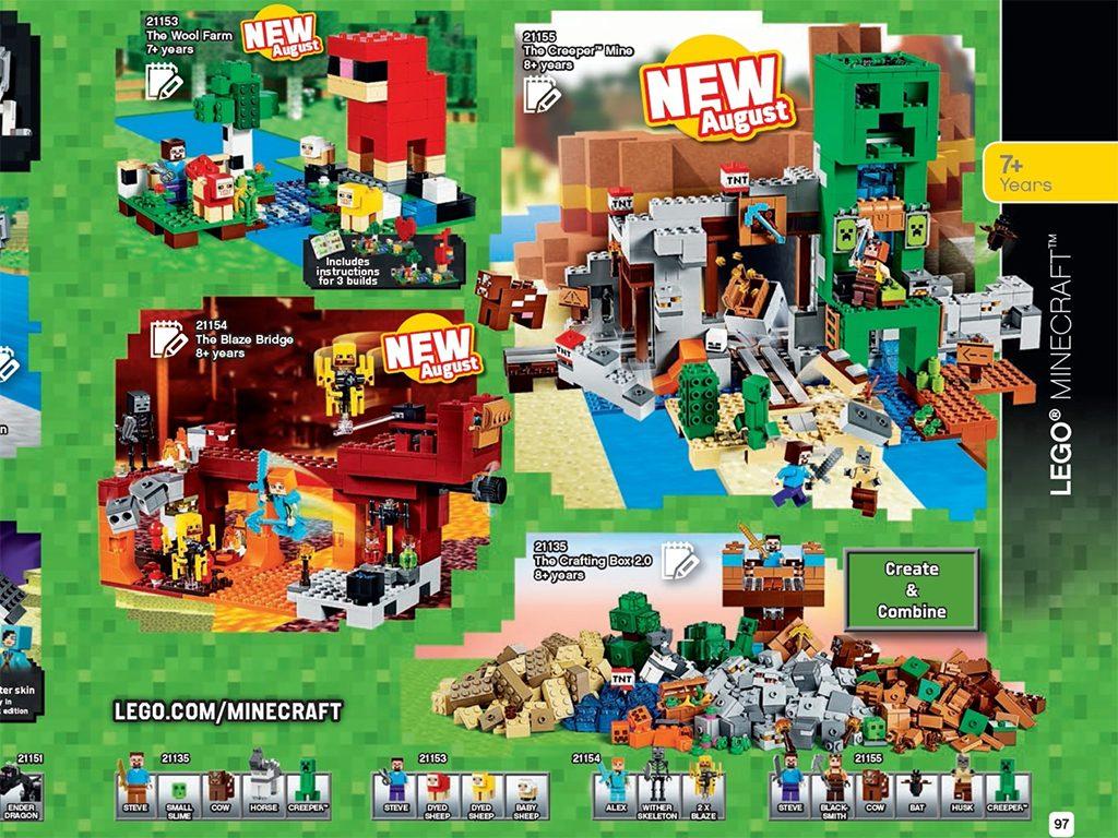 LEGO MInecraft 2019 August 1024x768