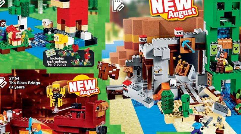 LEGO MInecraft 2019 August Featured 800 445