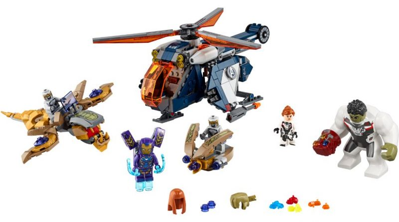 LEGO Marvel 76144 Avengers Hulk Helicopter 40 800x445