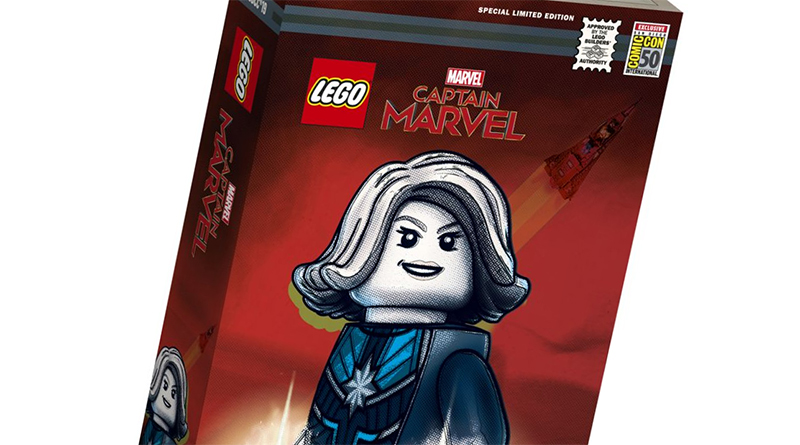 LEGO Marvel San Diego Captain Marvel Exclusive Featured 800 445