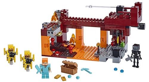 LEGO Minecraft 21154 The Blaze Bridge 3