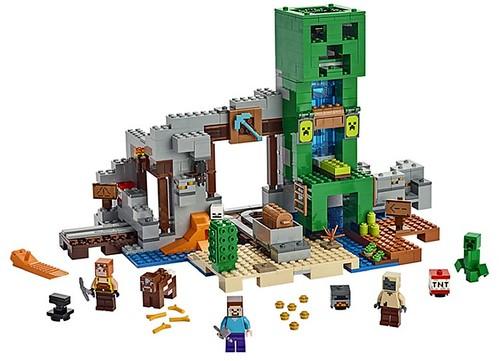 LEGO Minecraft 21155 The Creeper Mine 3