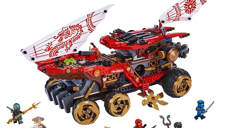LEGO NINJAGO 70677 Land Bounty Featured 800 445