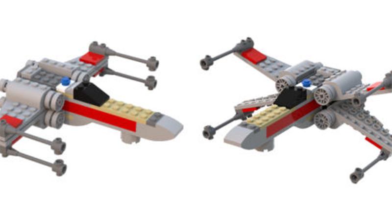 LEGO Star Wars X Wing Mini Big Featured 800 445
